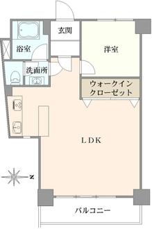 湯島武蔵野マンションの間取図