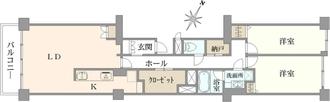 早稲田セントラルハイツの間取図