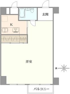 原宿ニュースカイハイツアネックスの間取図