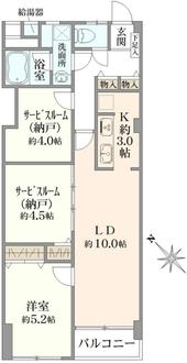 上板橋ハウスの間取図