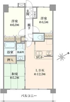 ネクステージ国分寺IIの間取図