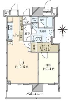 ザ・豊洲タワー THE TOYOSU TOWERの間取図
