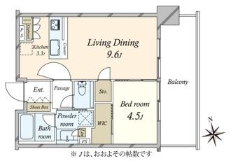 シティタワーズ東京ベイウエストタワーの間取図