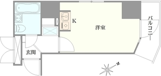 クリオ川崎東弐番館の間取図