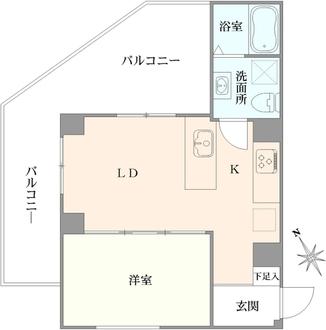 新池田山マンションの間取図