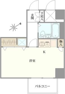 ロイヤルパレス川崎本町の間取図