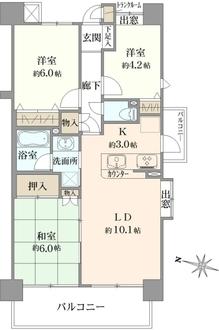 ザ・ウインベル高円寺の間取図