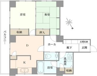 三田村ビルの間取図
