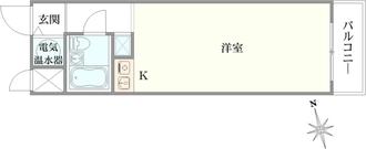 ライオンズマンション神楽坂第5の間取図