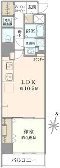 ライオンズマンション錦糸町の間取図