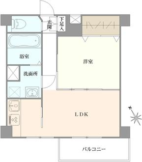 パラシオン北上野の間取図