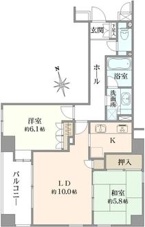 東急ドエル・アルス浅草アクトタワーの間取図
