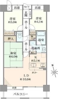 ルネ戸田公園駅前の間取図