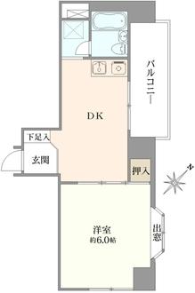 ダイアパレス東桜の間取図
