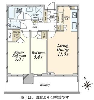 パークコート浜離宮ザタワーの間取図