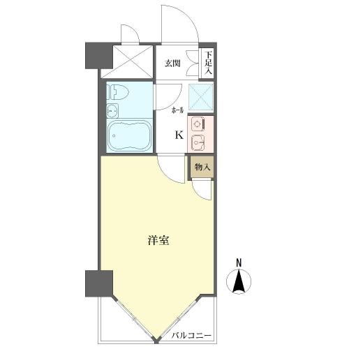 ライオンズマンション京都三条第3の間取図