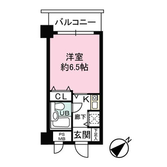 ライオンズマンション湘南江の島の間取図