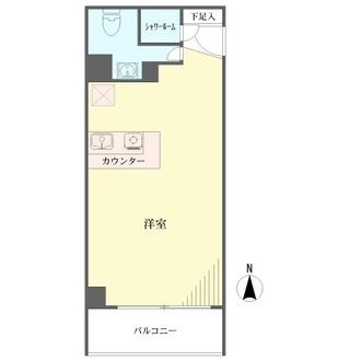 フアミール富士見の間取図