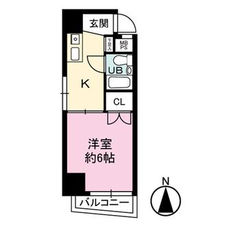 ライオンズマンション新宿第2の間取図