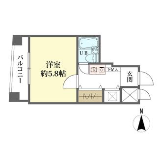 ウイング高円寺南の間取図