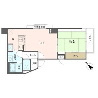 ライオンズマンション神戸元町通の間取図