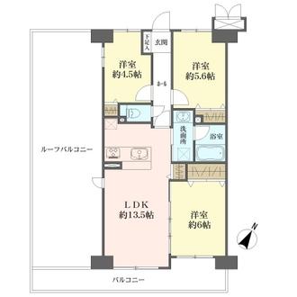 モアステージ松戸六高台デルニエの間取図