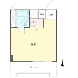 チサンマンション桜通久屋の間取図