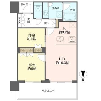 MJR堺筋本町タワーの間取図