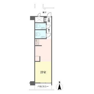 ロータリーマンション栄の間取図