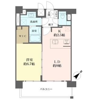 プレサンス名古屋STATIONビジュの間取図