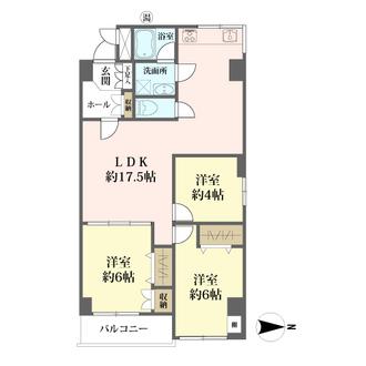 武蔵野エイトマンションの間取図