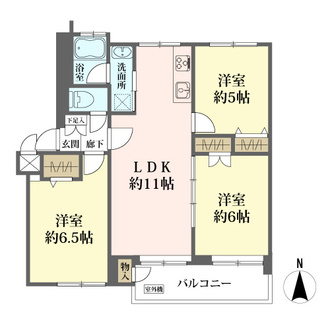 三鷹第7アパートの間取図