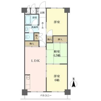 第2マンション南茨木の間取図