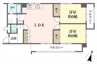 セブンスターマンション第2春日井の間取図