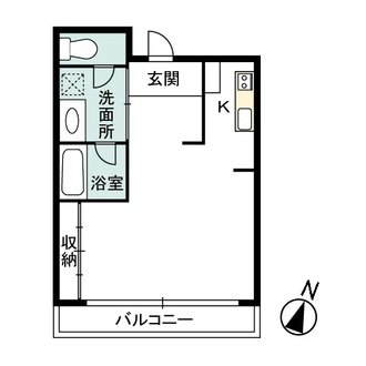 セントラルパークタワー・ラ・トゥール新宿の間取図