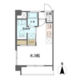 三田大山コーポの間取図