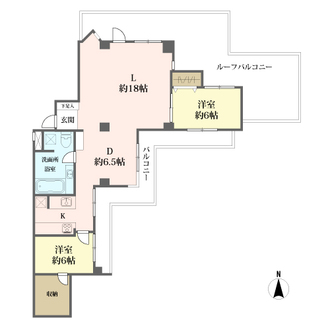 ライオンズマンション広尾第2の間取図