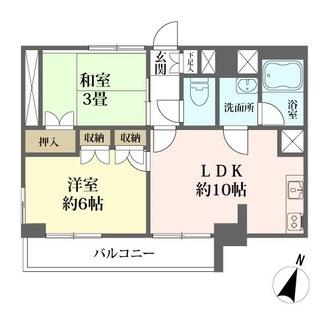 ライオンズマンション隅田公園の間取図
