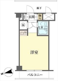 ルツクハイツ横浜台町の間取図