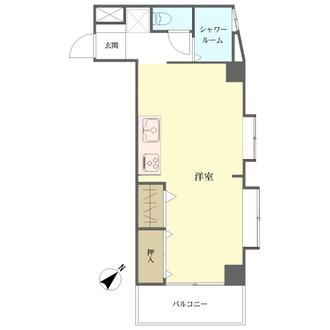 セブンスターマンション関内石山の間取図