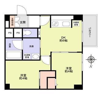 高円寺プラザの間取図