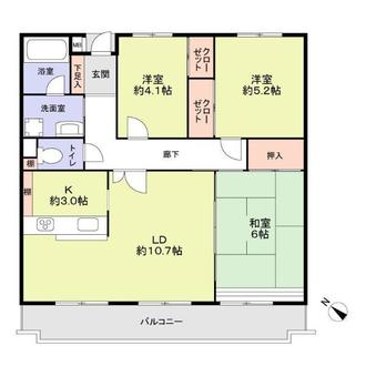 NDSマンション楠の間取図