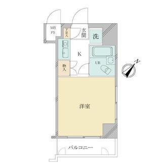 セザール第3川崎の間取図