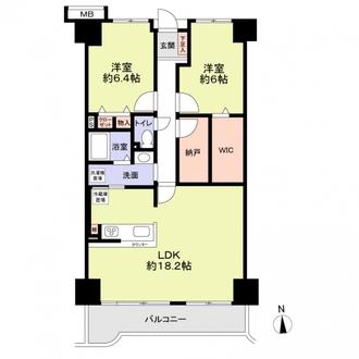 フェルティ・メイツ泉ヶ丘2番館の間取図