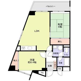 新栄アンピール西公園の間取図