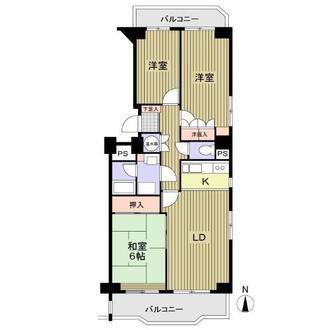 シーアイマンション第三本郷N棟の間取図