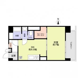 ニュー荻窪フラワーホームの間取図