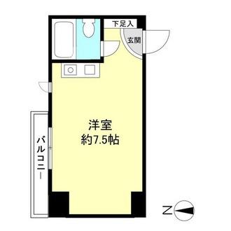 北広田ヒルサイドテラスの間取図