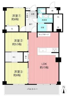 岡本ハウスの間取図