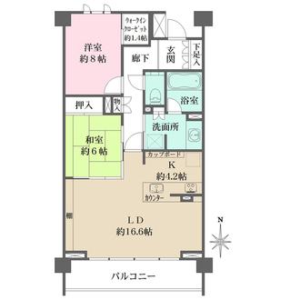 ザ・パークハウス京都鴨川御所東の間取図